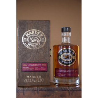 Marder Whisky Port Cask Single Barrel 53,7 vol. alc.