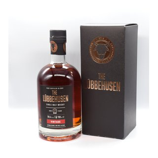 The Lübbehusen Vintage 58,4 % Single Malt Fassstärke